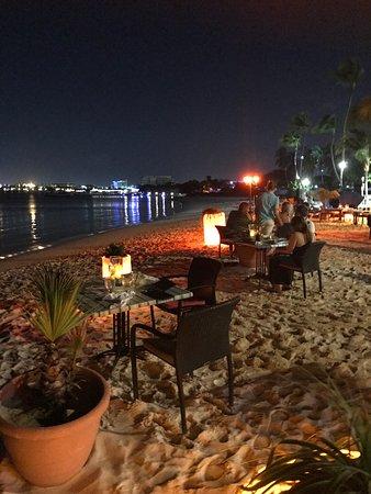 Barefoot restaurang, Aruba