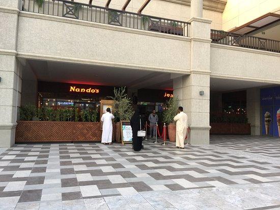 المدخل Picture Of Nando S Rubeen Plaza Riyadh Tripadvisor