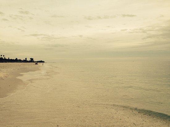 Beach view from Gulf Sands Beach Resort