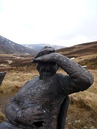 Aviemore and the Cairngorms, UK: The cairnwell sculpture park glenshee perthshire scotland