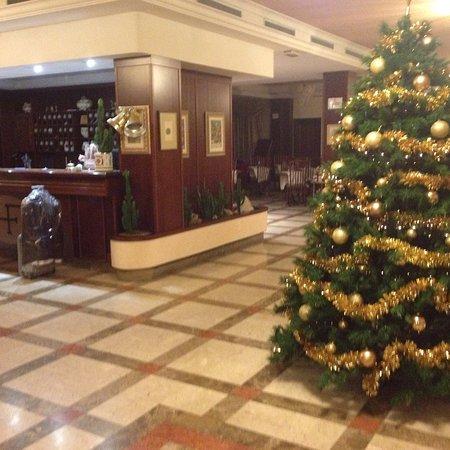 Hotel Forum: atmosfera natalizia nella hall