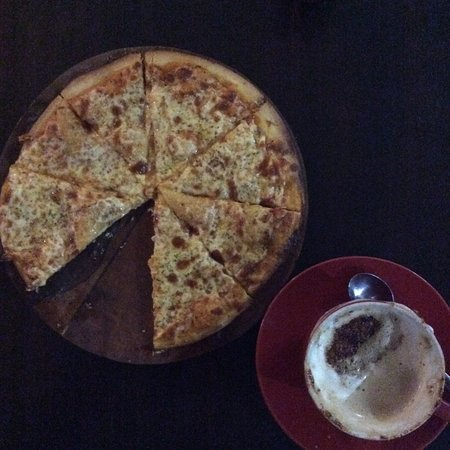 good coffee and pizza