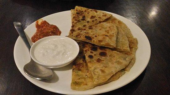 The Indian Kaffe Express : Yummy parathas at Indian Kaffe Express