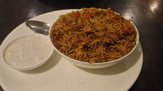 The Indian Kaffe Express : Yummy chicken rice at Indian Kaffe Express