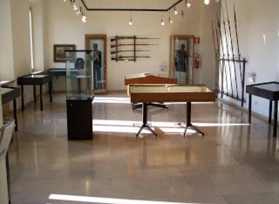 Pizzighettone, Włochy: Sala delle armi