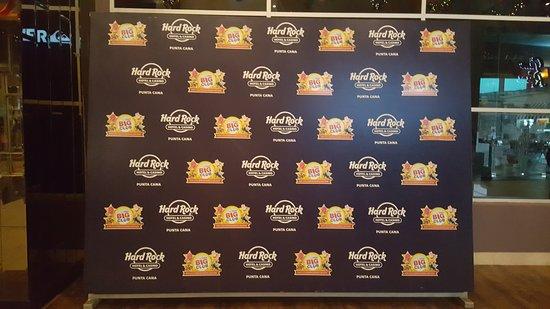 Hard Rock Casino Punta Cana: Photo op sign
