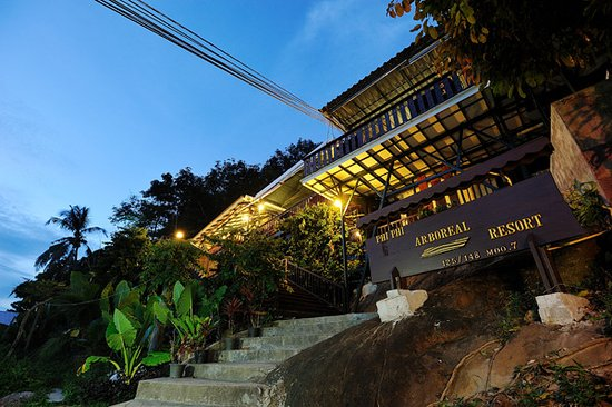 Phi Phi Arboreal Resort: Hotel & grounds