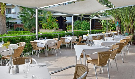Intertur Hotel Miami Ibiza: Restaurant (Terrace)