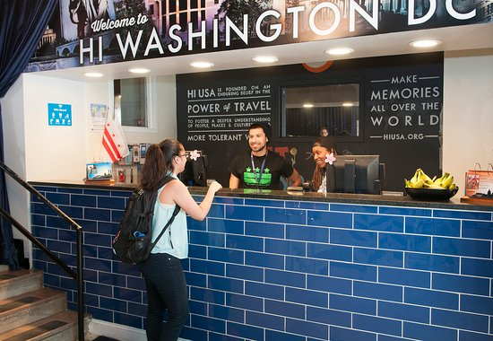 HI Washington DC Hostel: Our friendly staff will happily share their local tips and recommendations