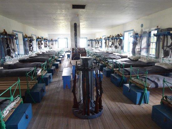 Fort Laramie, WY: la caserne