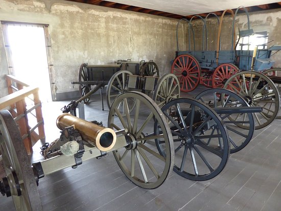 Fort Laramie, WY: l'arsenal
