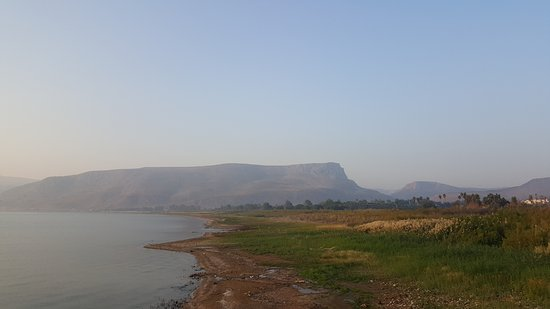 Ginosar, Israel: Sea of Galilee near the hotel pool