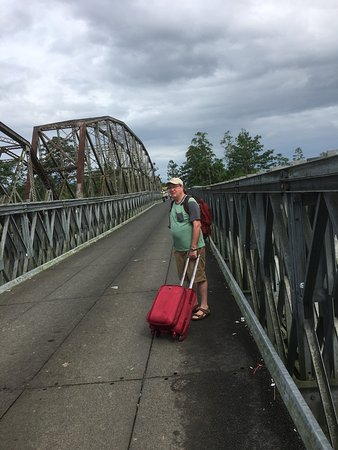 Sixaola, Costa Rica: Crossing from Panama to Costa Rica