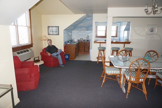 The Anchorage Inn : Very spacious areas within the apartment