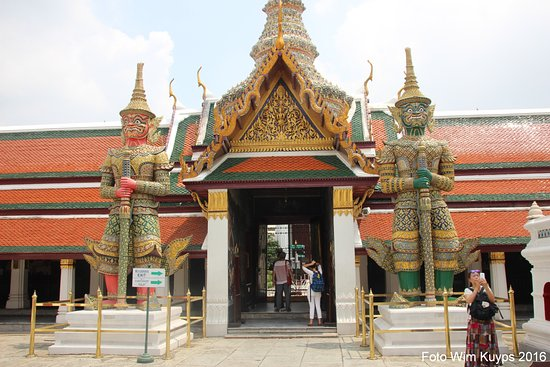 Wat Phra Kaew tempel