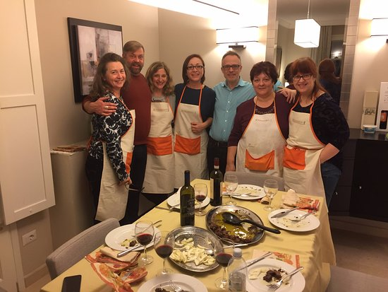 Peccioli, Italy: after our wonderful cooking class