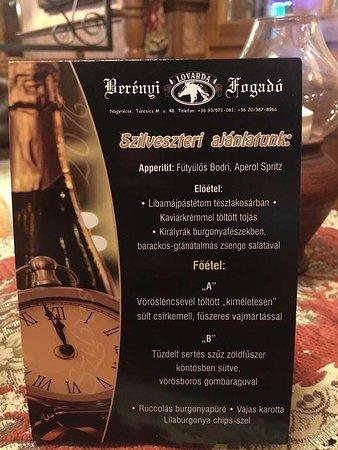 Nagykanizsa, Ungarn: Berenyi Fogado