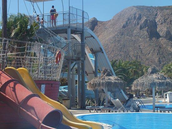Santorini Waterpark: Аквапарк