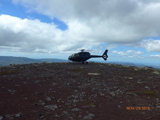 Volcanic Air: Mt Tarawera