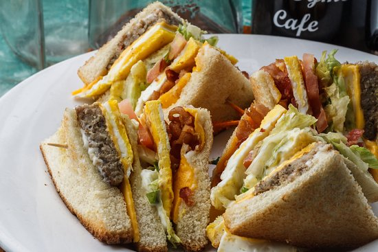 Crowley, LA: Breakfast Club Sandwich