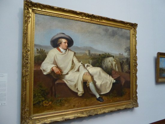 Painting of Goethe Picture of Staedel Museum Frankfurt