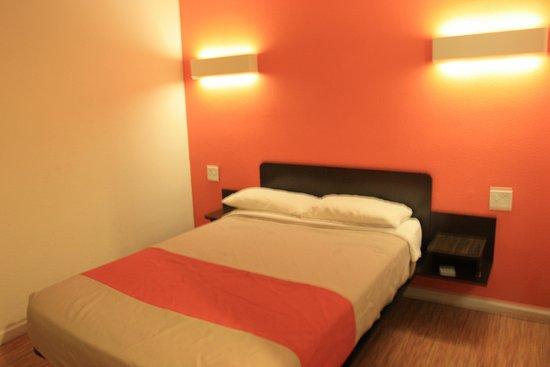 Минимализм соответствует формату мотеля.