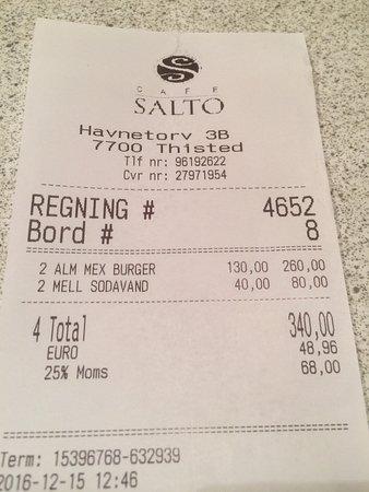 Thisted, Danemark : Café Salto