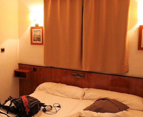 Hotel Call: Detalle de la habitación.