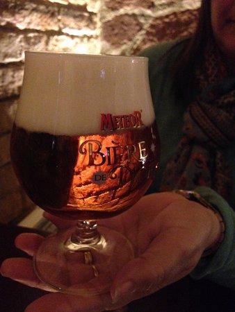 Neuf-Brisach, France: Un Bière de Noël, tradicional en la Alsacia, en la época Navideña