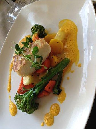 Inn On The Twenty Restaurant : Pan-seared Pickerel