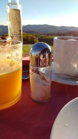 Hotel Rural 3 Cabos: Desayuno en la terraza