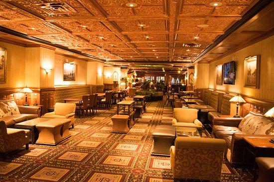 """The Driskill: The """"hopping"""" bar area"""