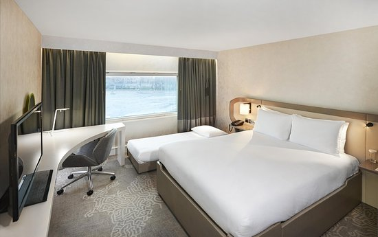 Hilton London Heathrow Airport: Queen Hilton Guestroom