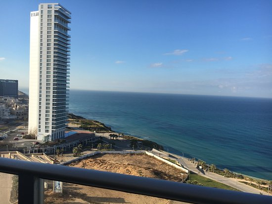 Ramada Hotel and Suites Netanya: View from the Balcony!
