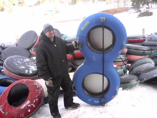 Beaver Meadows Resort Ranch : The Double tubes are fun becaause you can go down the hill with a friend.