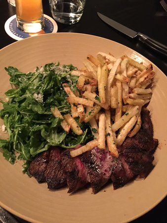 Revel Kitchen and Bar: Steak and fries