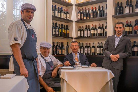 Osteria Callegherie: Lo staff... Marco, Antonio, Leonardo e Luca