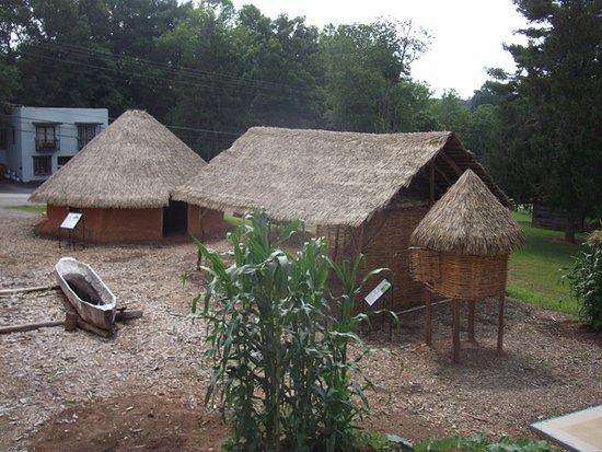 Hayesville, North Carolina: Cherokee Homstead