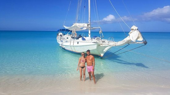 Sun Charters: Secluded beach visit