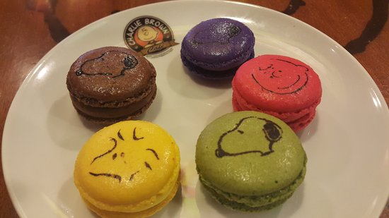 French Macaroons Picture Of Charlie Brown Cafe Fortuna