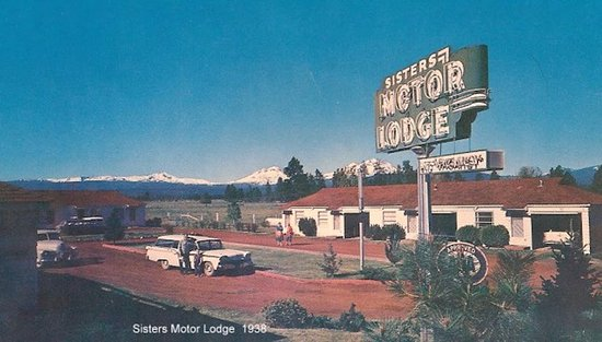 Established in 1938, Sisters Motor Lodge was the first hotel in Sisters, Oregon!
