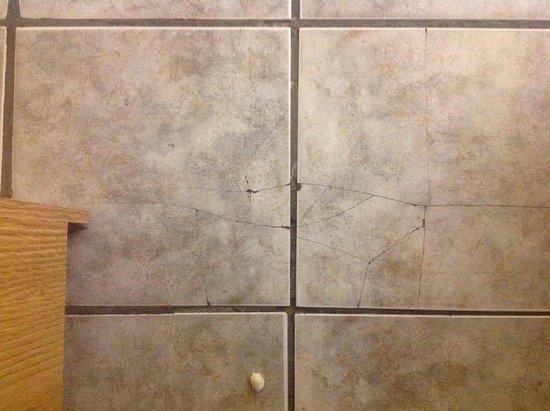 Midtown Motel & Suites: Broken tiles - more than this photo