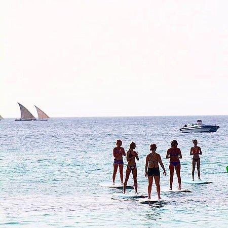 Kiteboarding Zanzibar