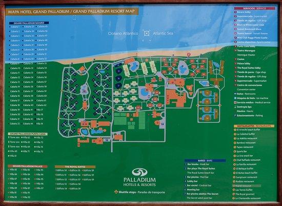 plan du site picture of grand palladium palace resort spa site plan drawing plan du site #5