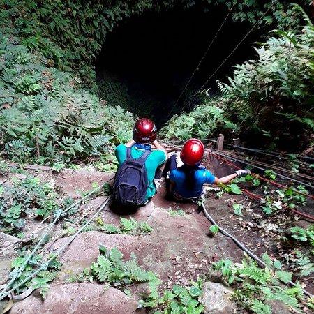 Puerto Villamil, Ισημερινός: Comienzo del descenso