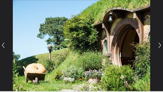 Gray Line New Zealand: Bilbo's house!