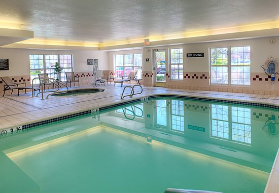 Residence Inn Portland Scarborough: Indoor Pool & Hot Tub