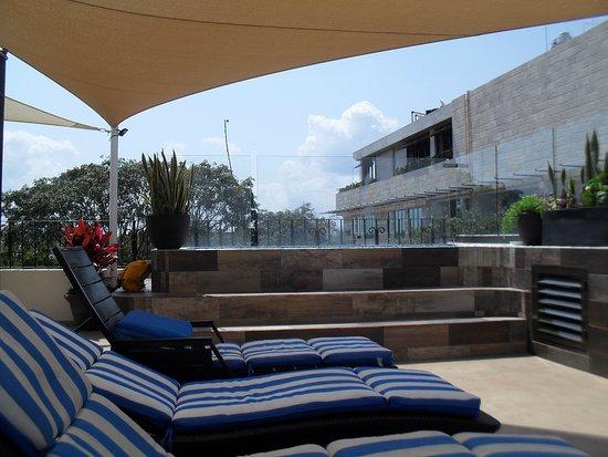 Suites coraz n desde playa del carmen m xico for Apartahoteles familiares playa