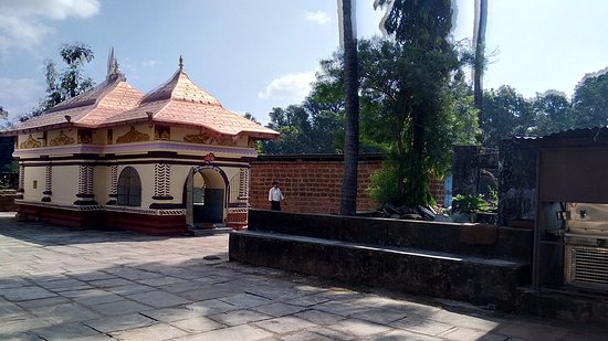 Ankola, India: The Mahadeva Temple in the  premises.