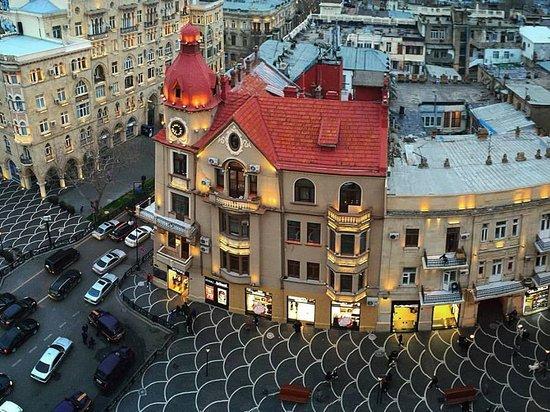 Hotel Hale Kai: Centre of Baku ( 200 metres from Halekai hotel)